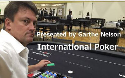 International Poker Special with Garthe Nelson