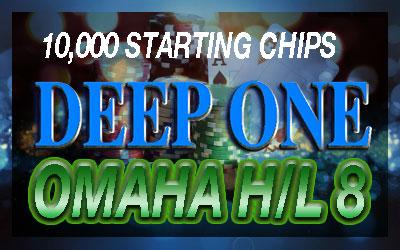 Deep One Limit OMAHA H/L 8